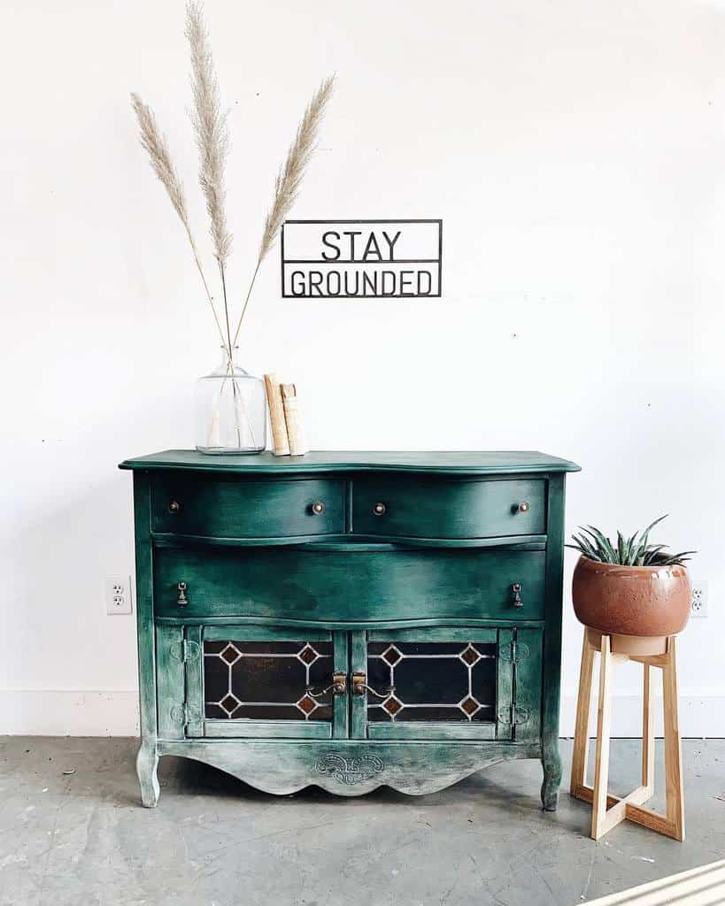 Ombre Chalk Paint Furniture Ideas -due.south