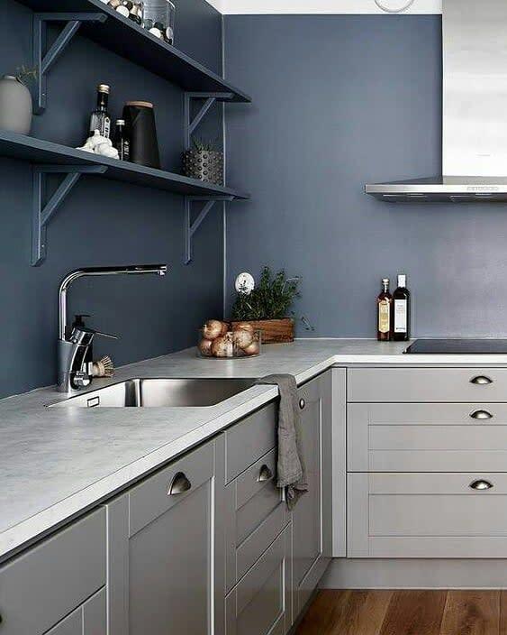 Open Kitchen Shelf Ideas -colorstylelove