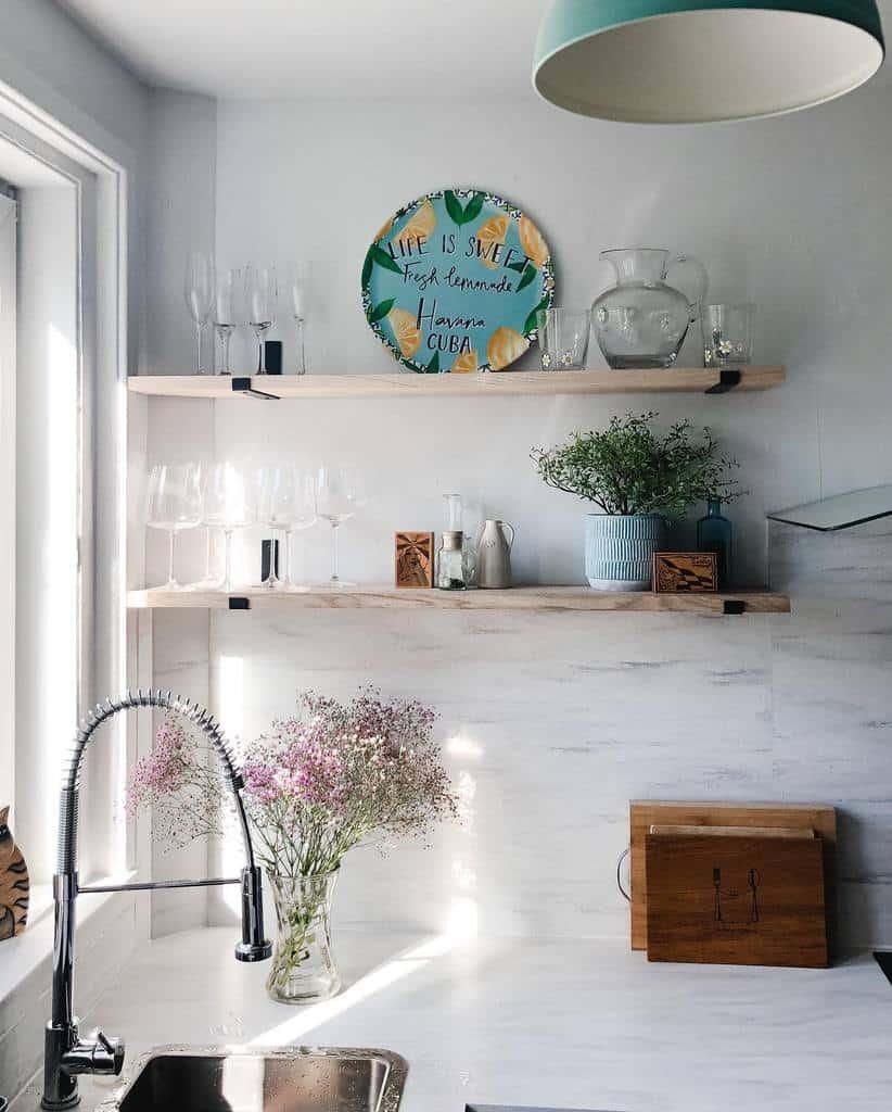 Open Kitchen Shelf Ideas -dukeofmontroseapartments