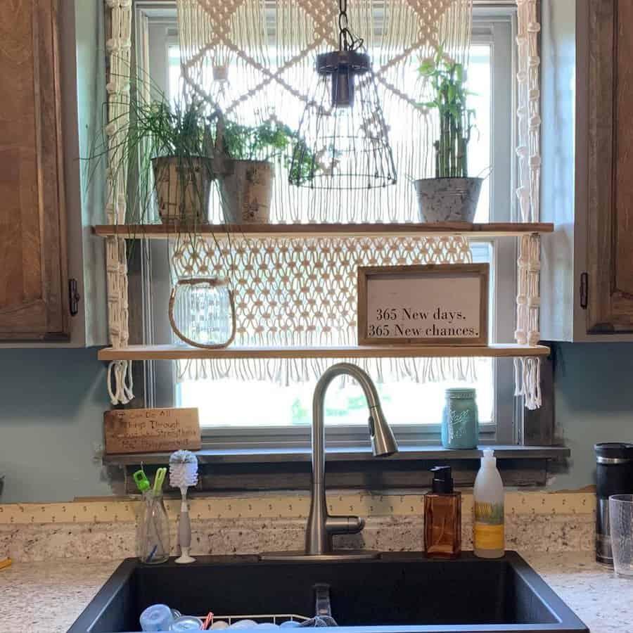 Open Kitchen Shelf Ideas -knotyouraveragedesign