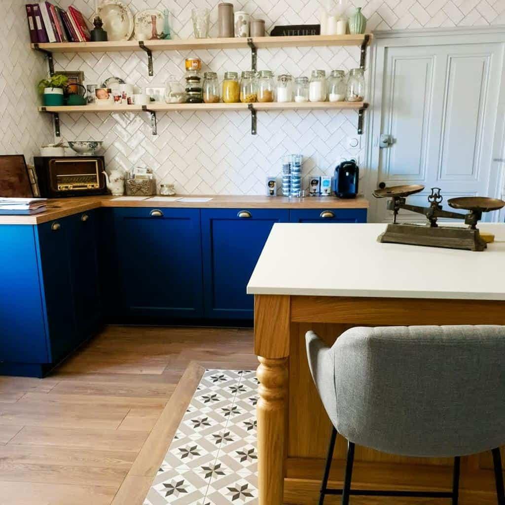 Open Kitchen Shelf Ideas -lamaisondebourg.farmhousestyle