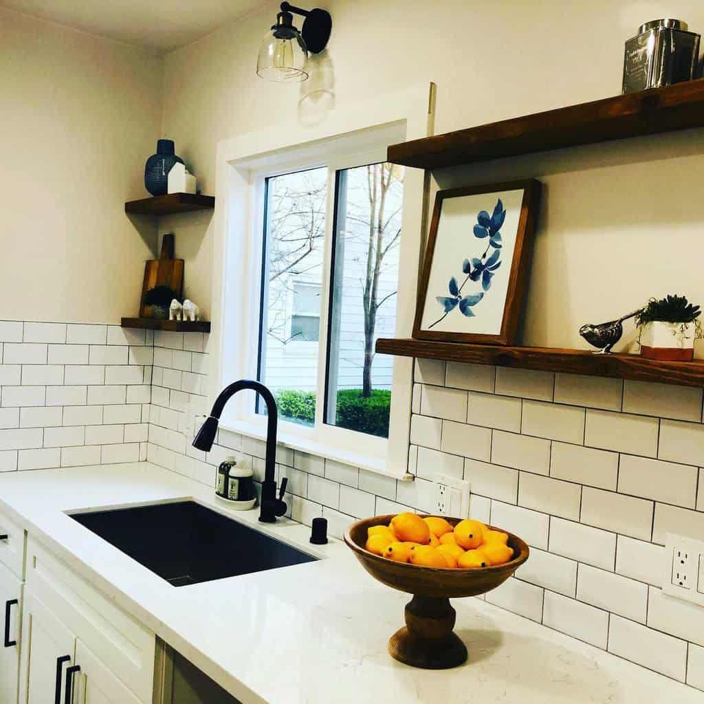 Open Kitchen Shelf Ideas -stagingbysquareone