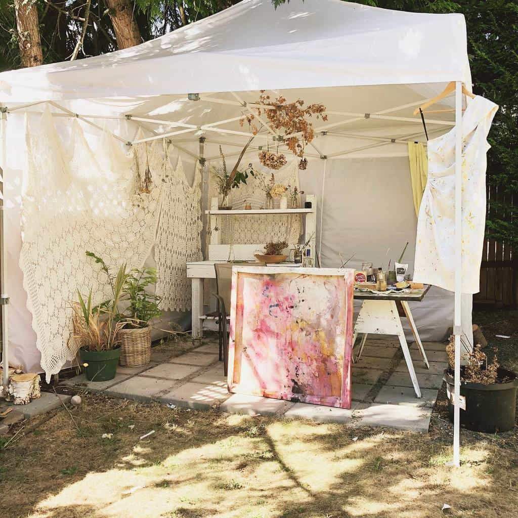 Outdoor Art Studio Ideas -jkcalladine