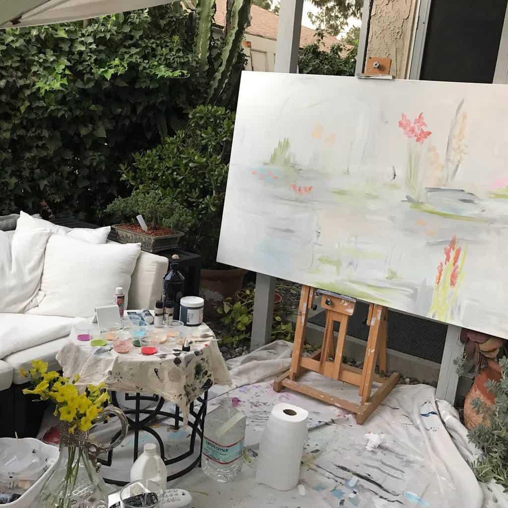 Outdoor Art Studio Ideas -kristinbrin