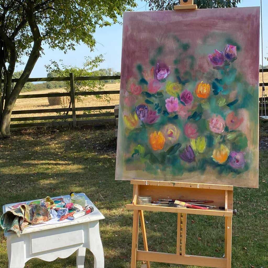 Outdoor Art Studio Ideas -meganrose_artist