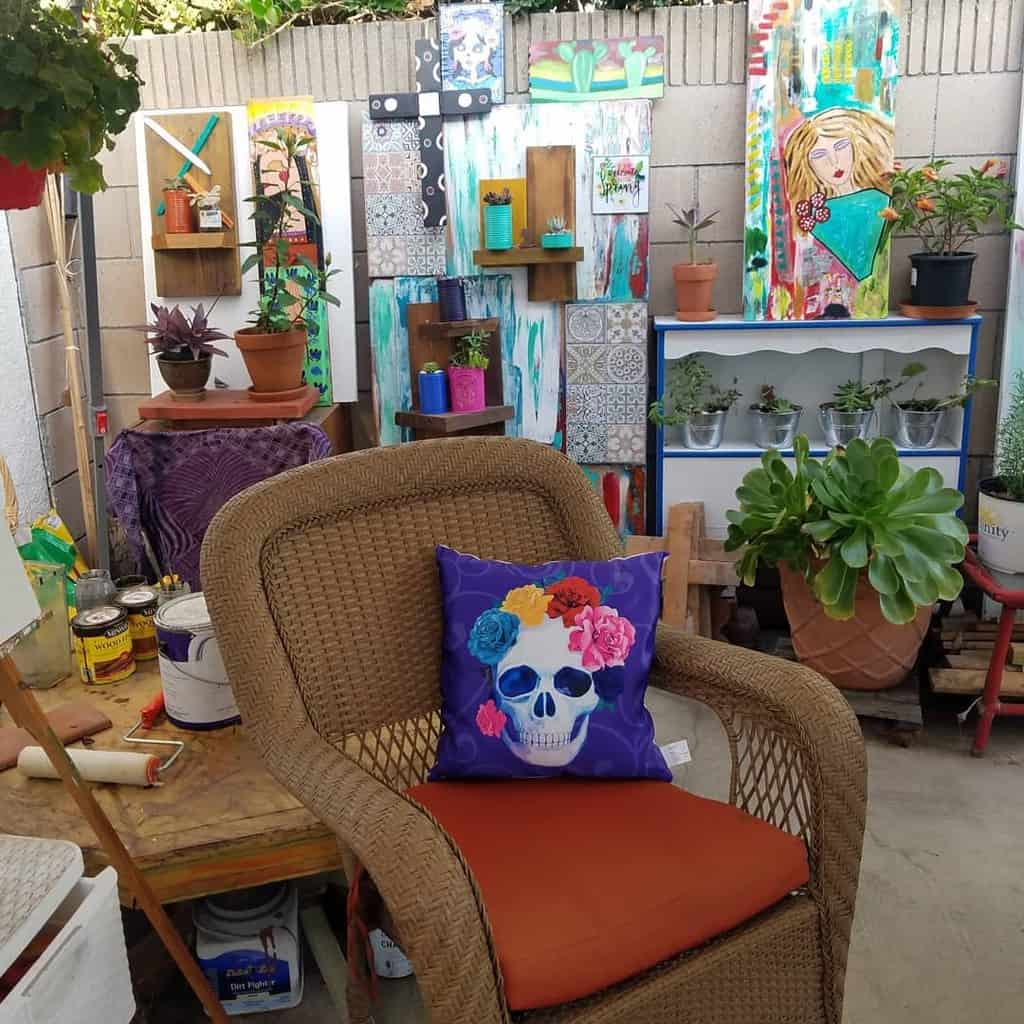 Outdoor Art Studio Ideas -miriamramirezart