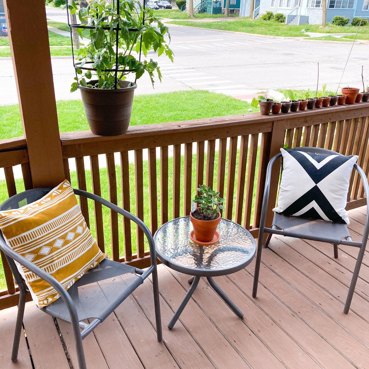 Budget Outdoor Decorating Ideas -miveglife