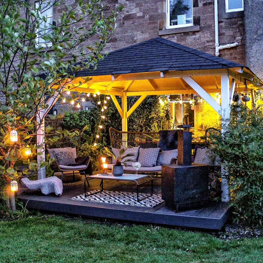 Patio Outdoor Decorating Ideas -the_1882_house