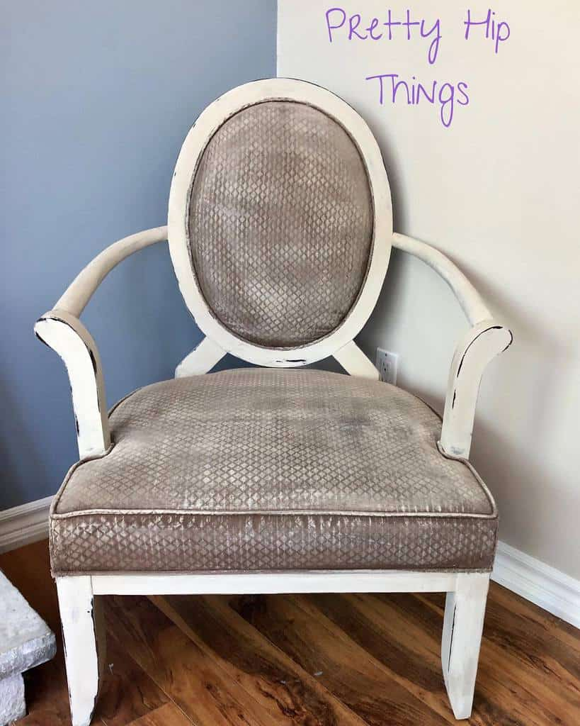 Painted Fabric Chalk Paint Furniture Ideas -myprettyhipthings