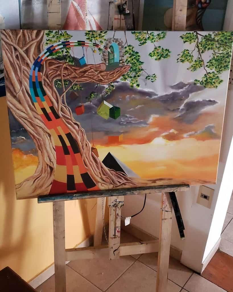 Painting Art Studio Ideas 2 -gabrieleartist