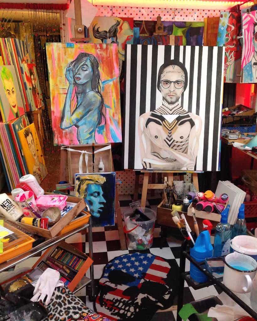 Painting Art Studio Ideas -brainwavecult