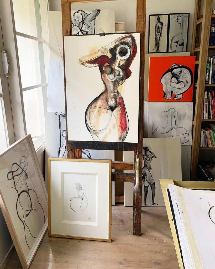 Painting Art Studio Ideas -carmeljenkin