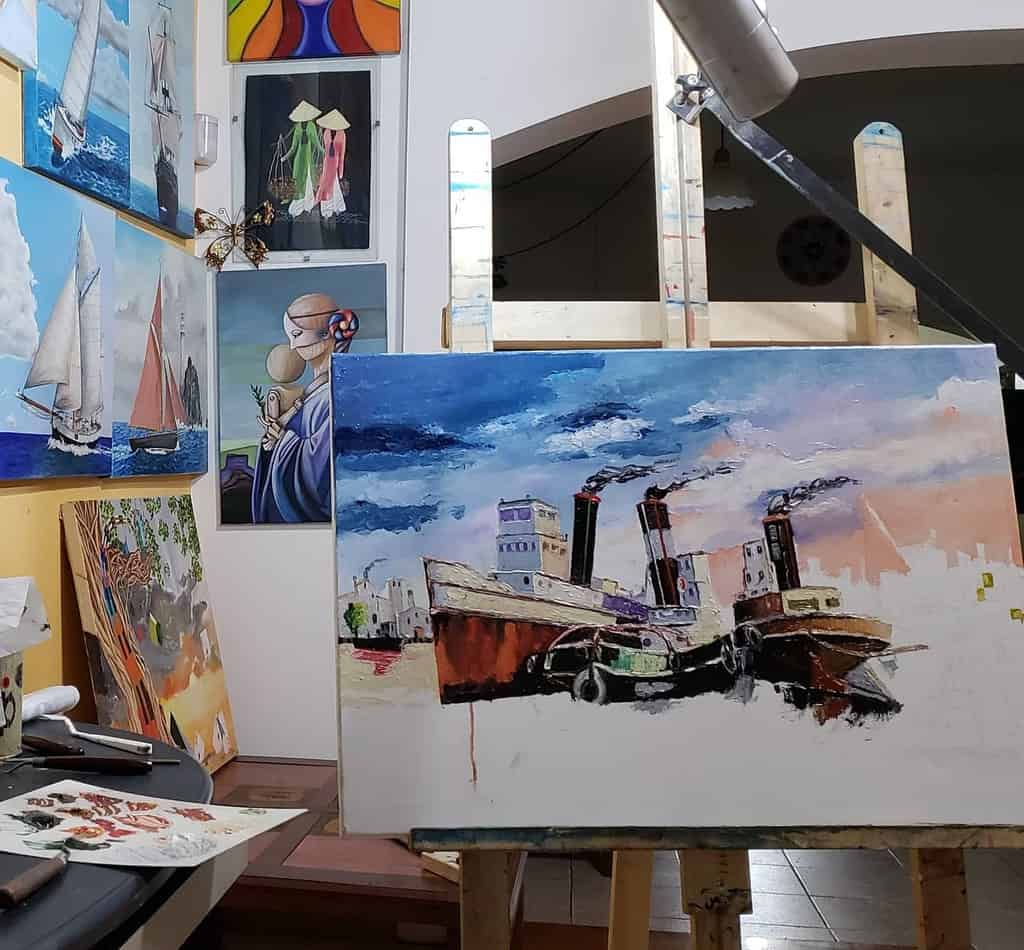 Painting Art Studio Ideas -gabrieleartist