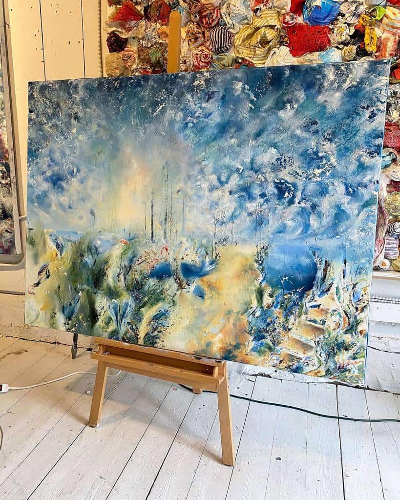 Painting Art Studio Ideas -samanthakaplanart