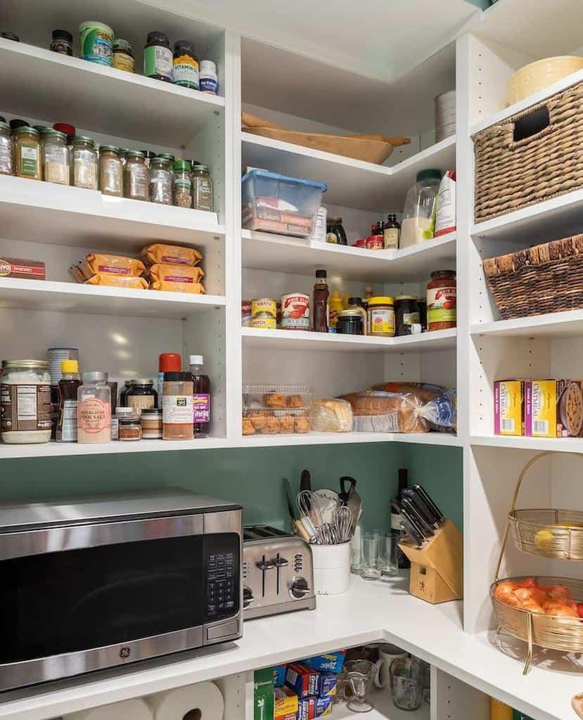 Pantry Kitchen Shelf Ideas -jordandesignbuildgroup