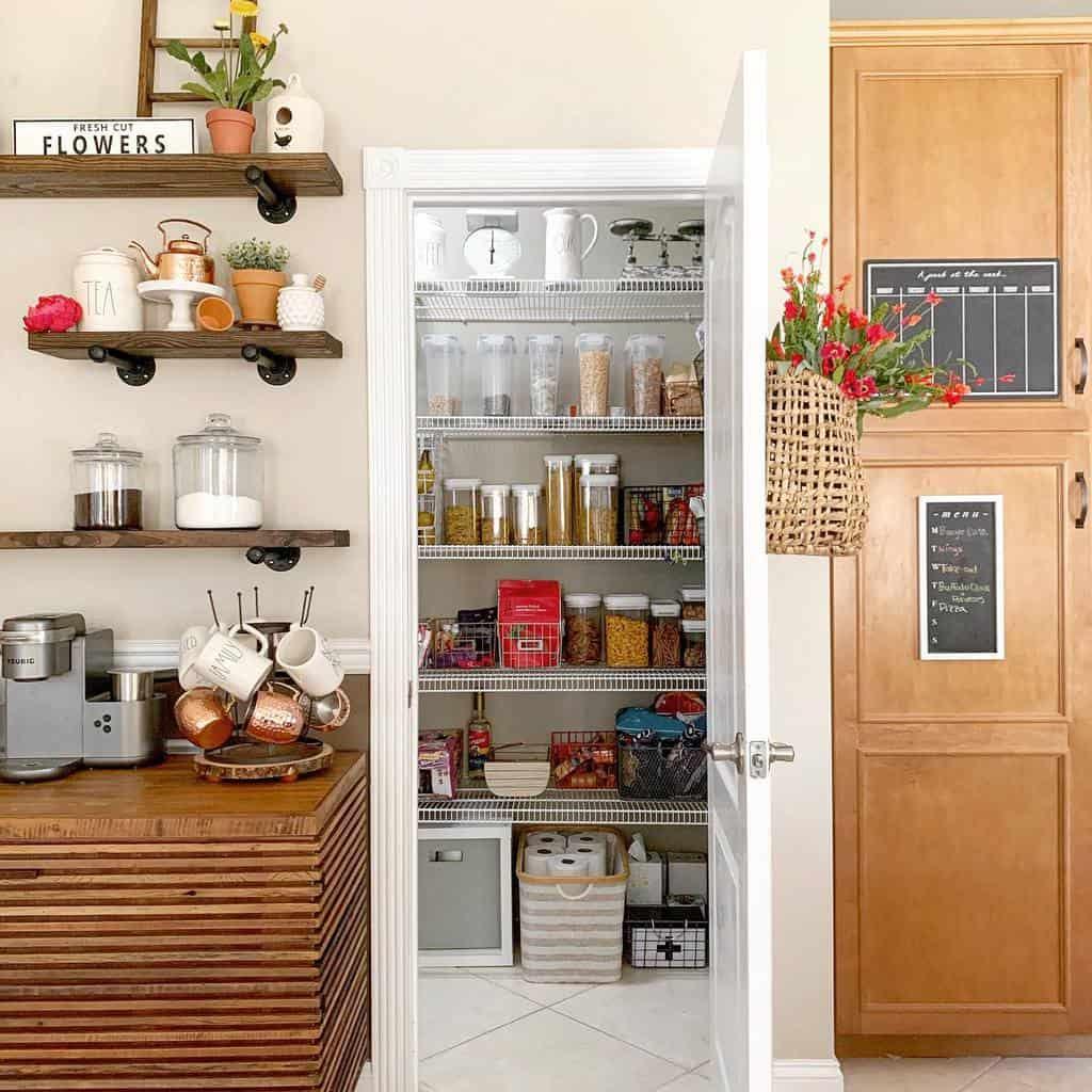 Pantry Kitchen Shelf Ideas -mylifeondoecourt