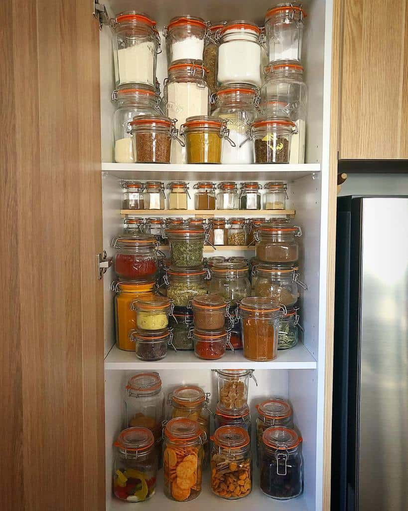 Pantry Kitchen Shelf Ideas -oldschooltraveller