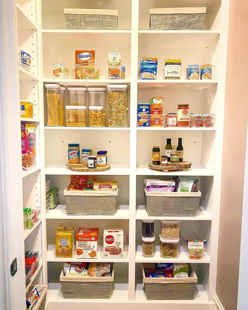 Pantry Kitchen Shelf Ideas -organizedsolutions_