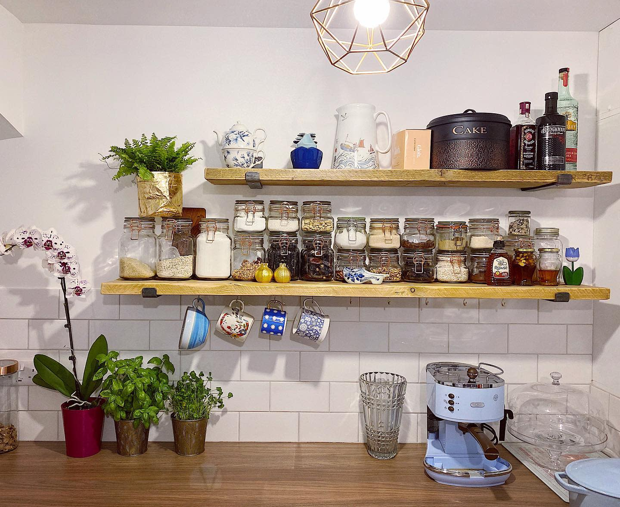 Pantry Kitchen Shelf Ideas -thelotusgurl