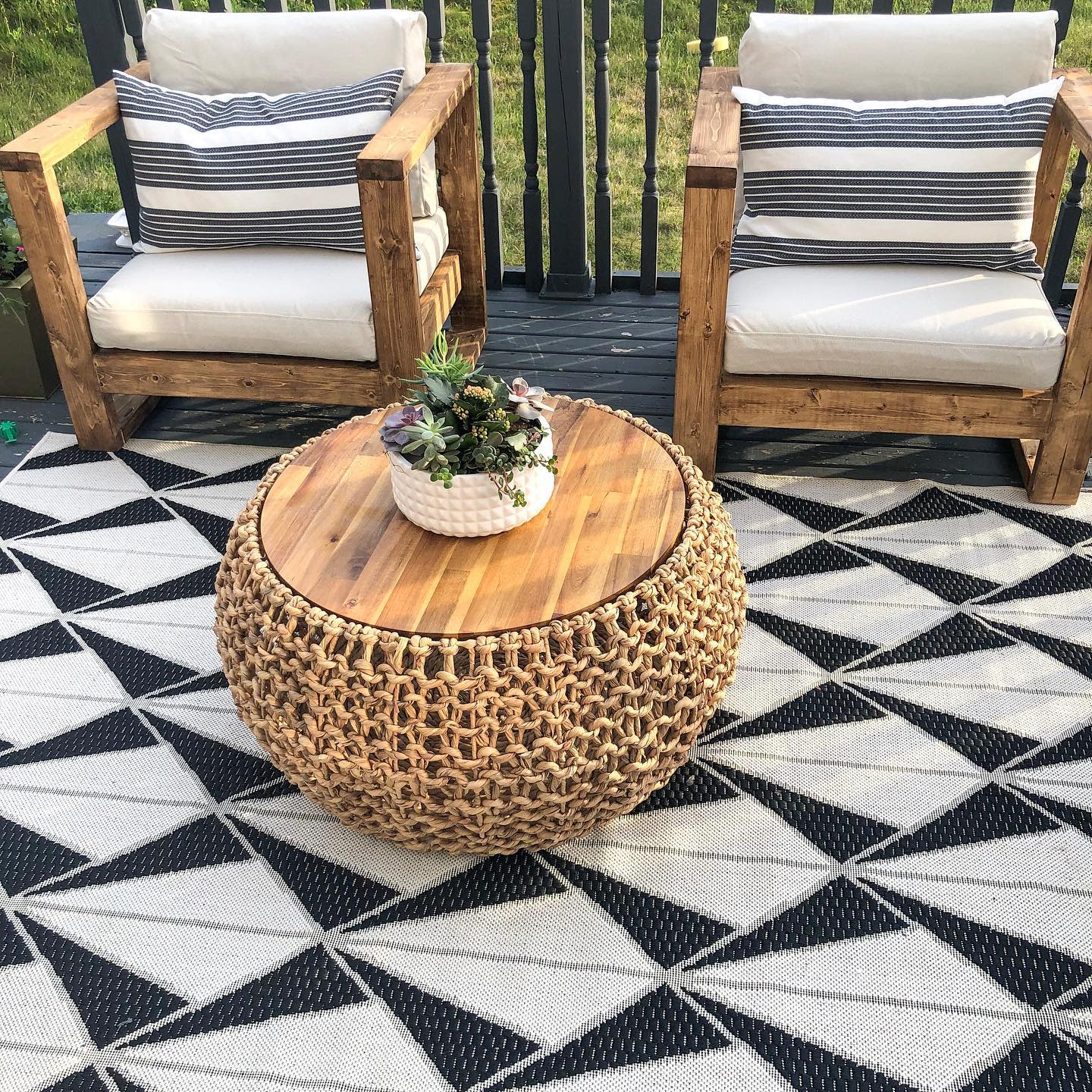 DIY Patio Furniture Ideas -home_on_the_bluff