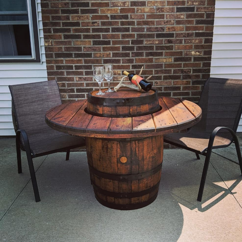 Rustic Patio Furniture Ideas -grainworks_old_and_new