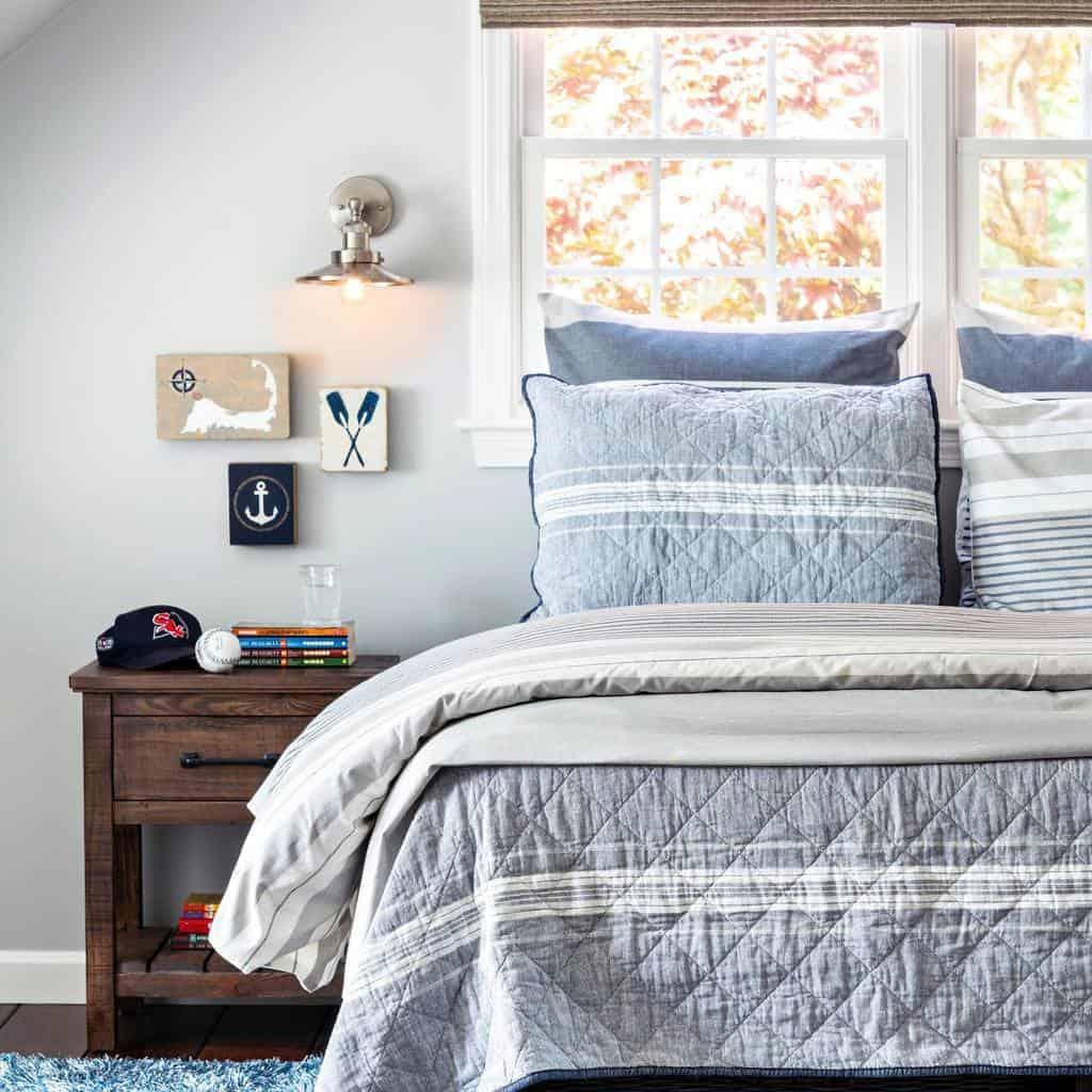 Rustic Coastal Bedroom Ideas -washashorehome