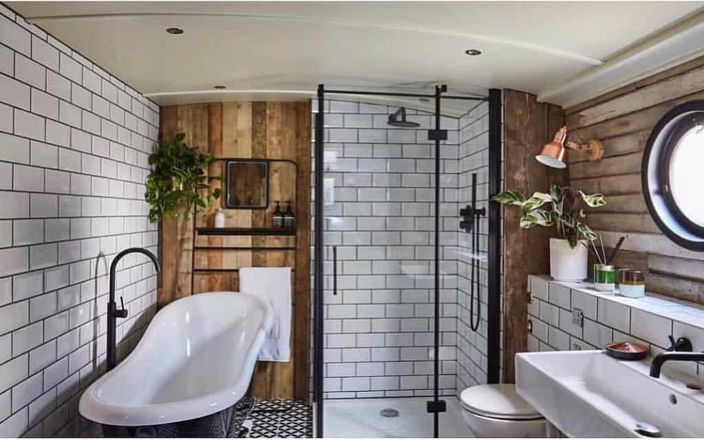 Rustic Wet Room Ideas -boathouselondon