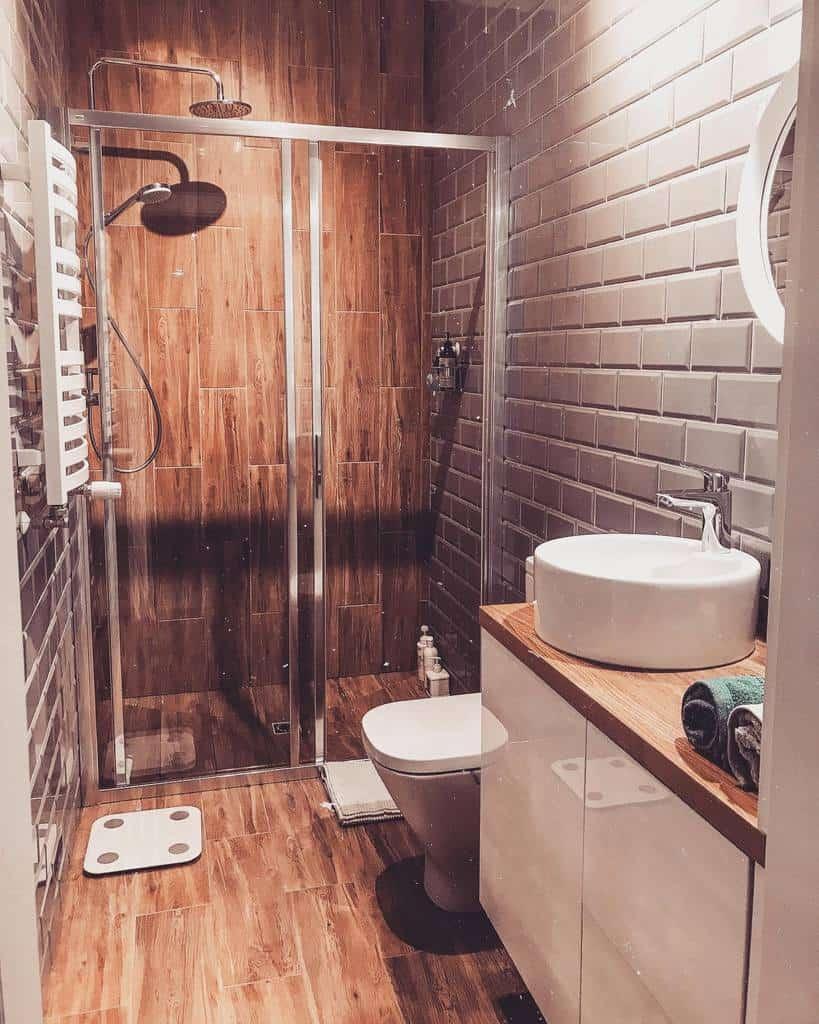 Rustic Wet Room Ideas -nziarko_