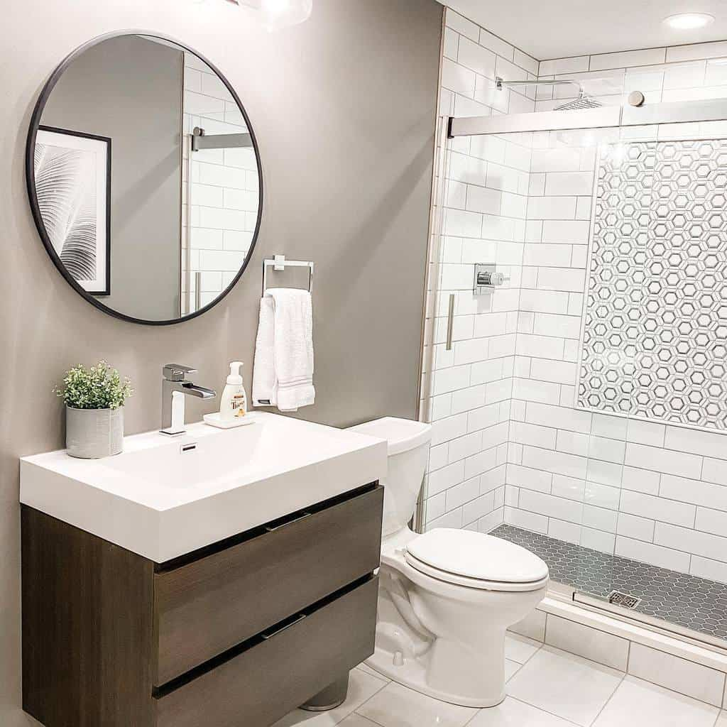 Shower Wet Room Ideas -kristiperozzi