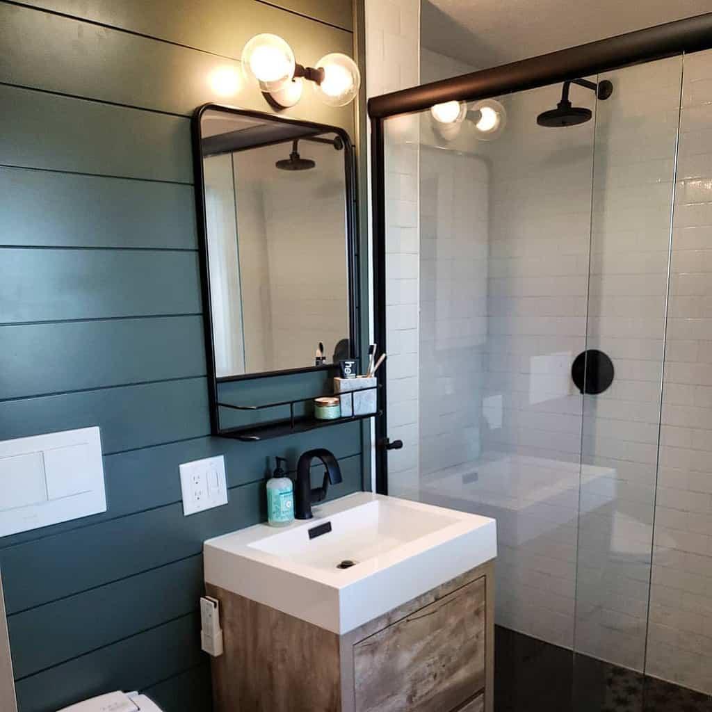 Simple Wet Room Ideas -sagebrush.n.sawdust