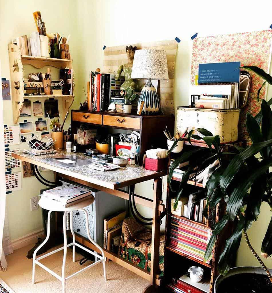 Small Art Studio Ideas -cdeart_365
