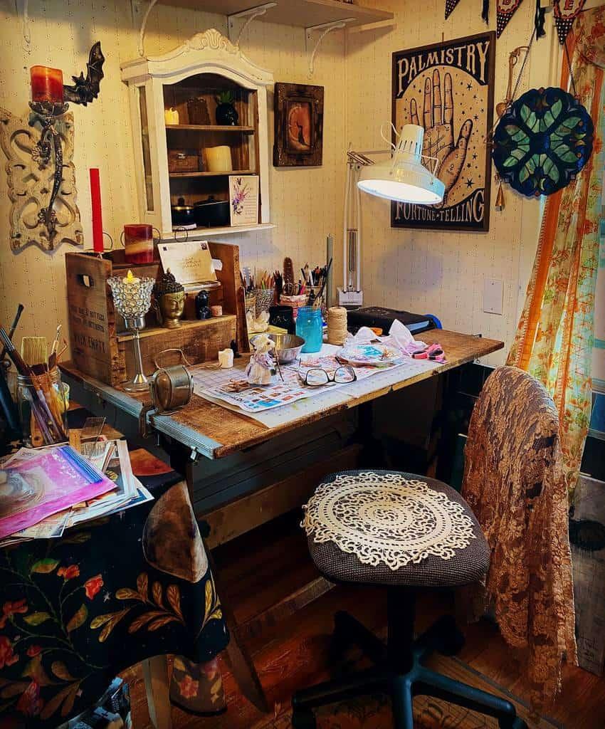 Small Art Studio Ideas -figblossomart