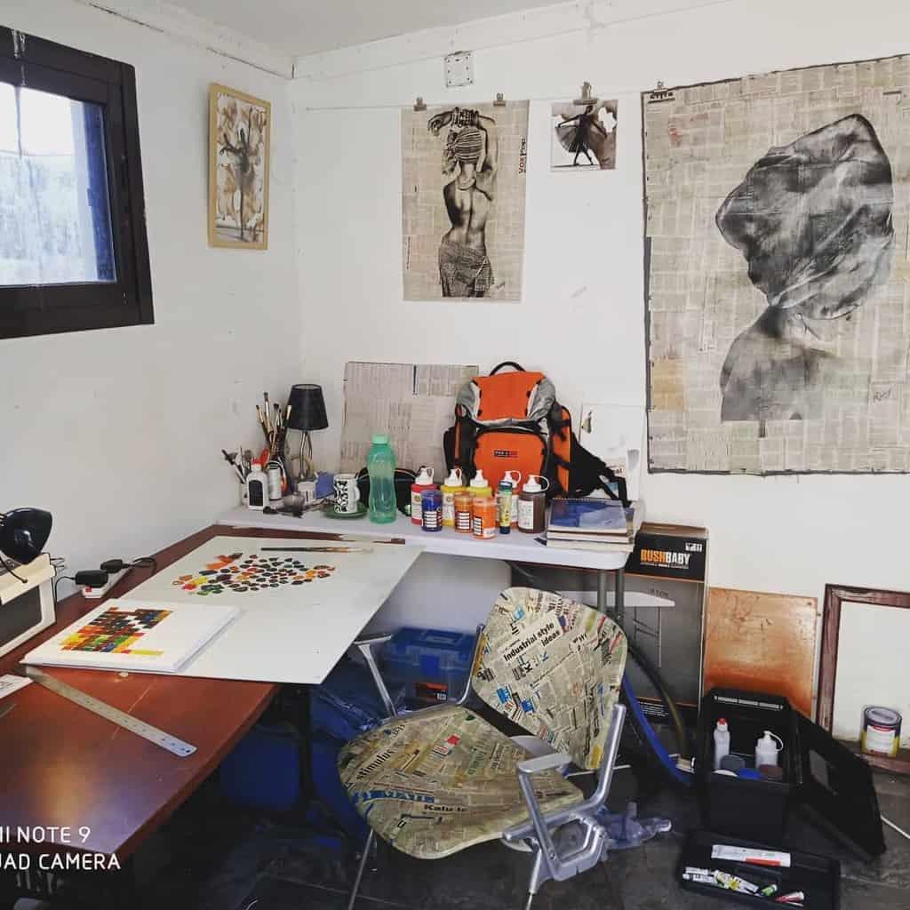 Small Art Studio Ideas -mulenga_mubanga065