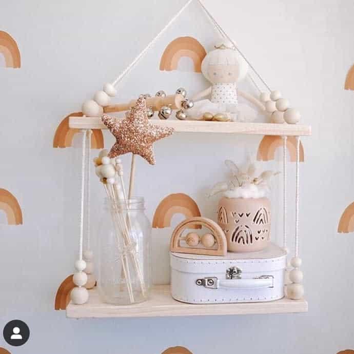 Small Floating Shelves Ideas -essentiallyrawdesigns