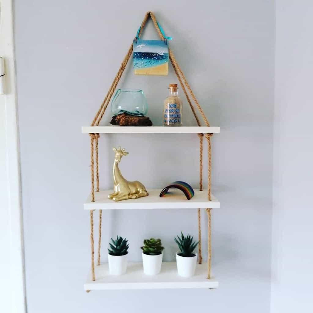 Small Floating Shelves Ideas -llcustomcreationsuk