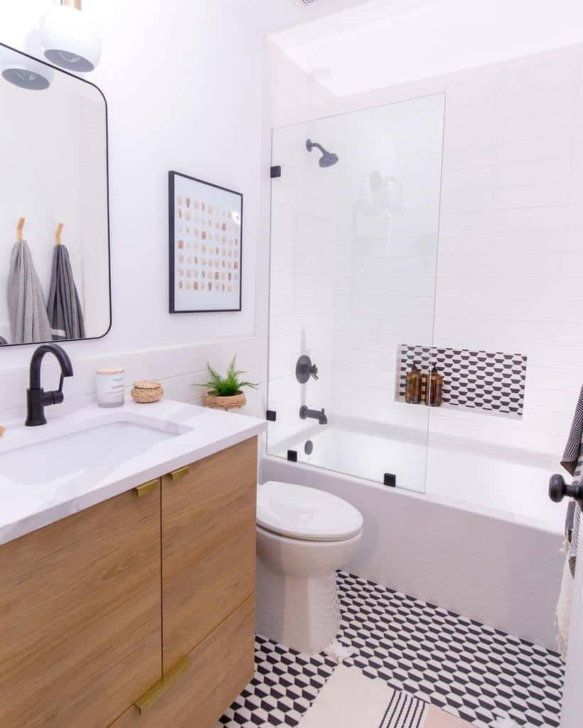 Small Wet Room Ideas -onehousewonder