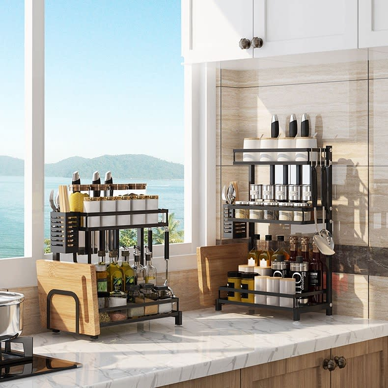 Kitchen Space Saving Ideas -zohahomeliving