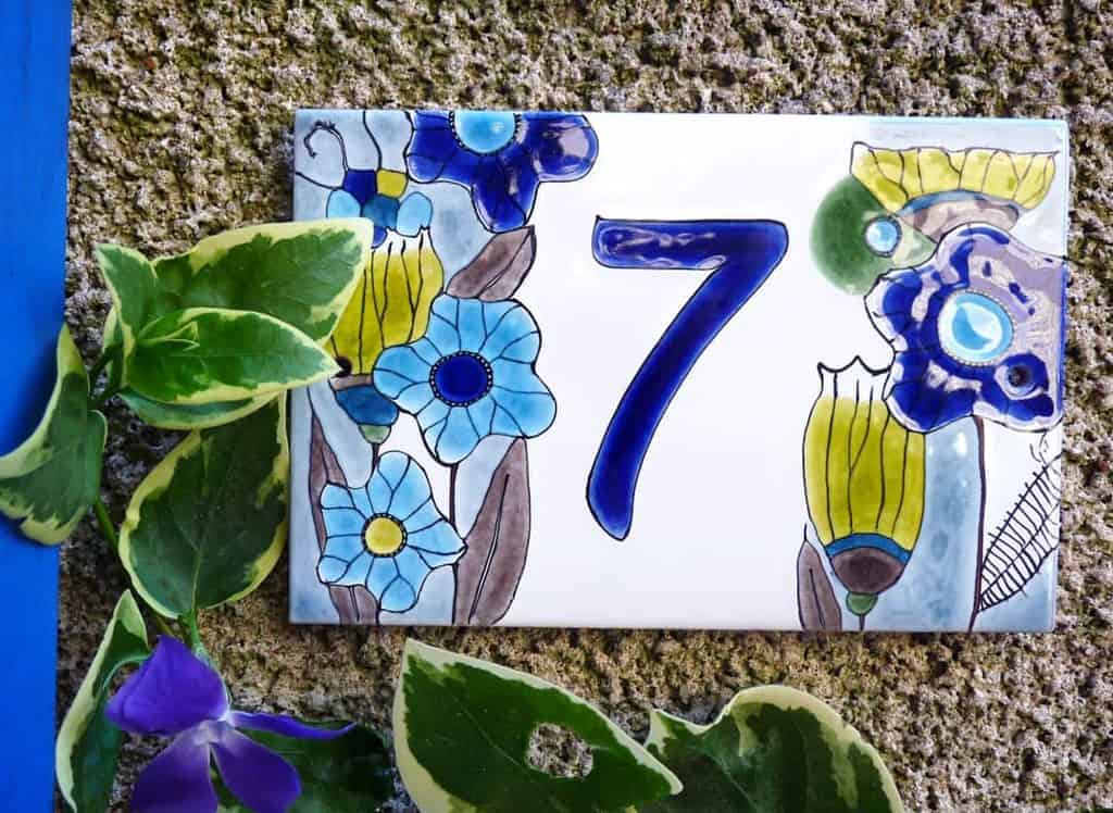 Stone Ceramics Tiles House Number Ideas -depoudresetdemail