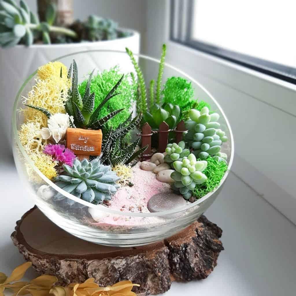 Terrarium Succulent Garden Ideas -florarium_minigarden