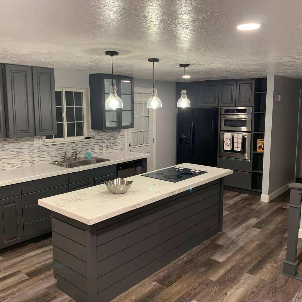 Tile Countertop Ideas -home_centered_design