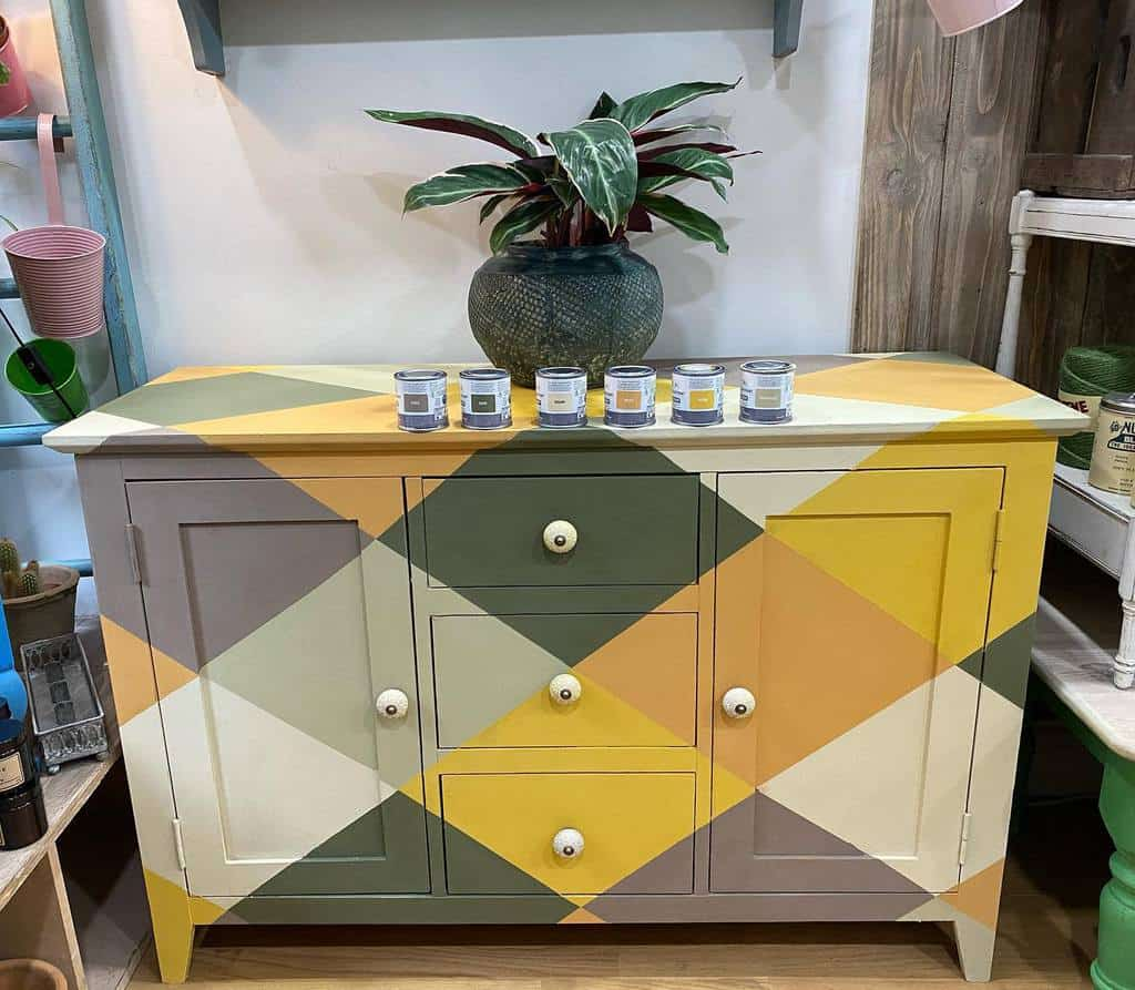 Two Tone or Multi Tone Chalk Paint Furniture Ideas -wildwoodwallingford