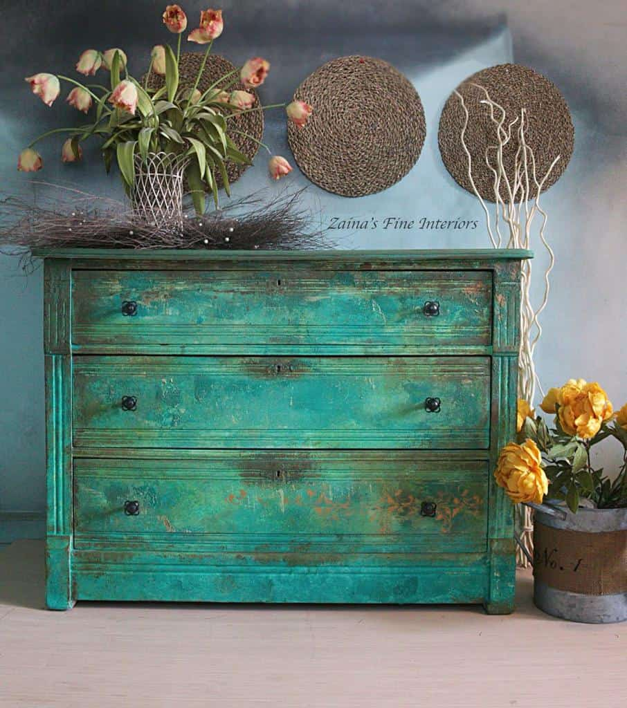 Vintage Chalk Paint Furniture Ideas -zainasfineinteriors