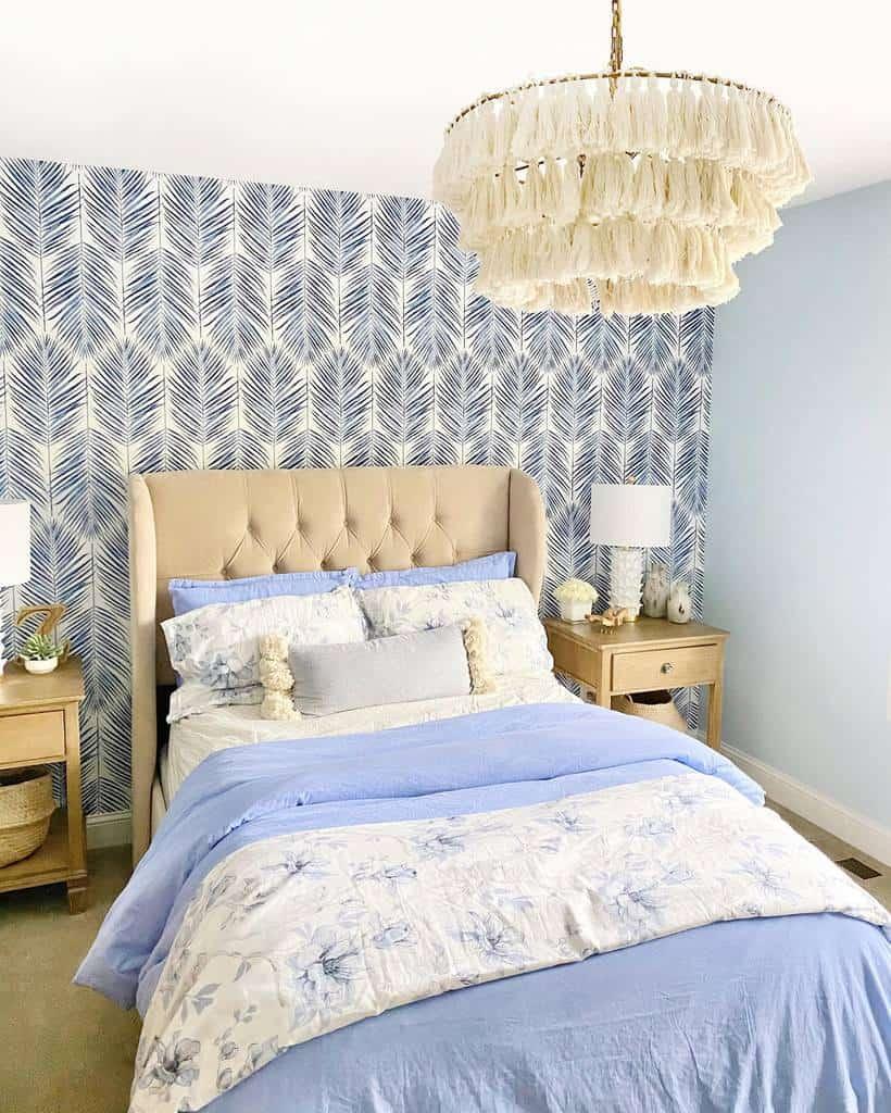 Wall Coastal Bedroom Ideas -whenahousebecomesahome