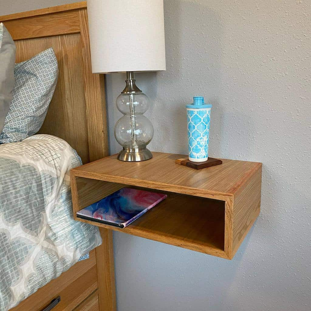 Wall Mounted Nightstand Ideas -715woodworks