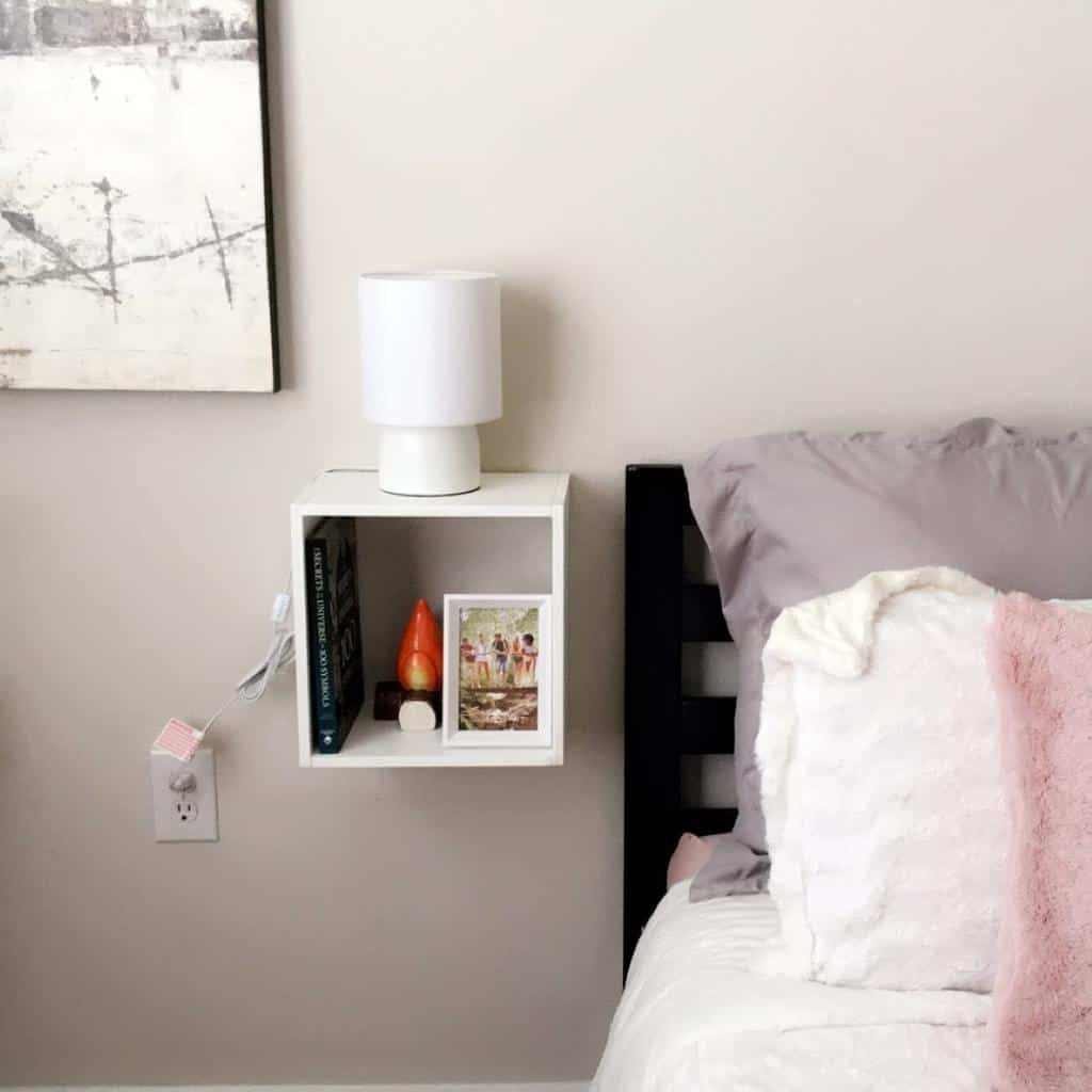 Wall Mounted Nightstand Ideas -homedecorraleigh