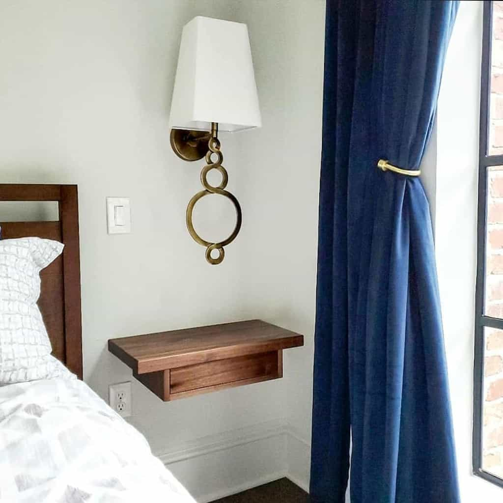 Wall Mounted Nightstand Ideas -jericho_home