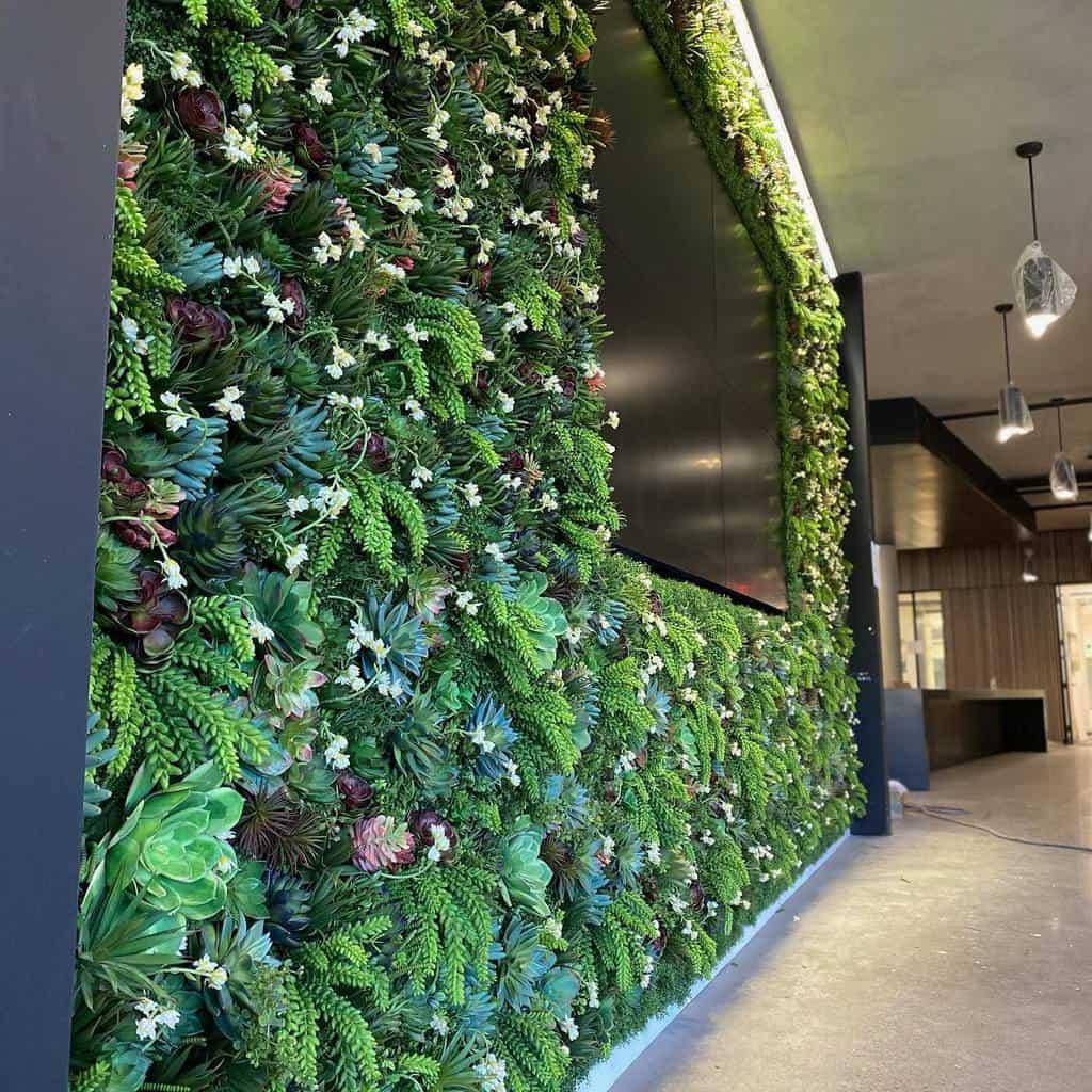 Wall Succulent Garden Ideas -missdaisyfloral