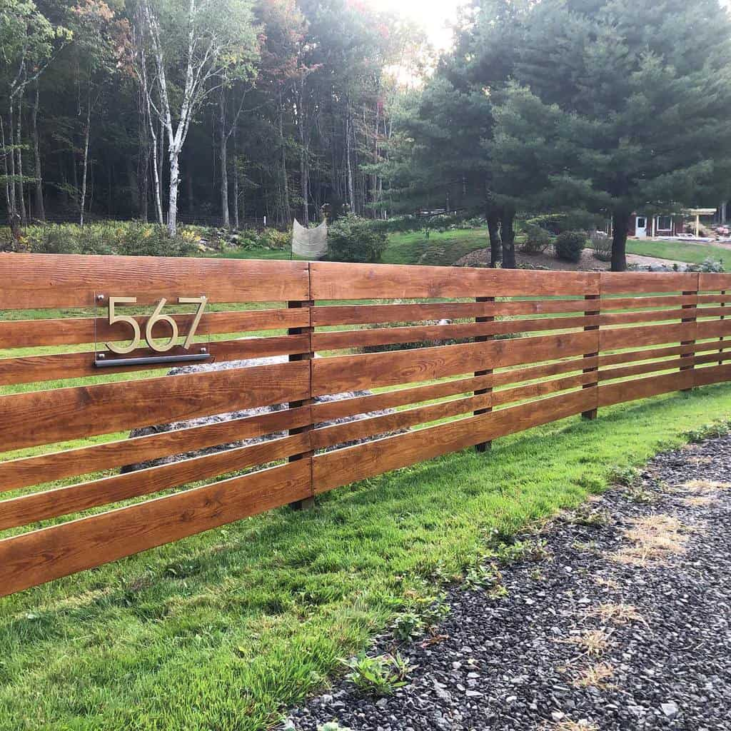 Wall or Fence House Number Ideas -heykornely