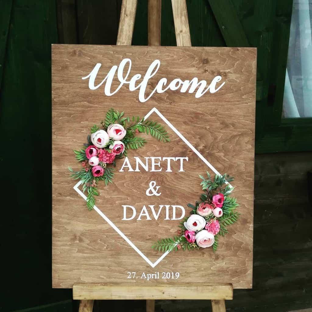 Wedding Wood Sign Ideas -rikisworld