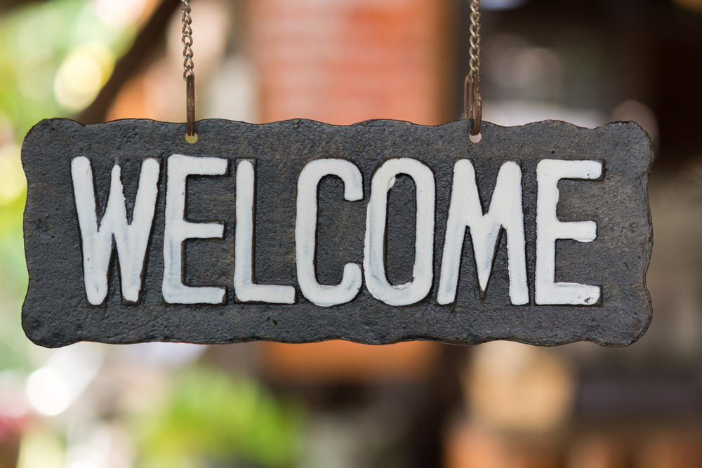 DIY Welcome Sign Ideas 2